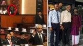 'ghost' in Malaysian parliament