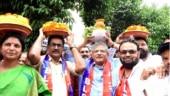 Fact Check: Did Sitaram Yechury attend a Hindu festival in Hyderabad?