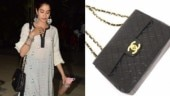 Janhvi Kapoor carried a Chanel Jumbo Classic Flap Bag.