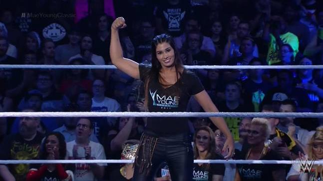 Kavita Devi had created history last year when she became the first Indian wrestler to feature in the Mae Young Classic in July 2017 (WWE Photo)