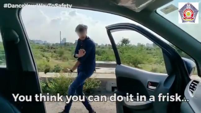 Kiki Challenge: India police warn against risky  dance trend