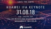 Huawei expected to announce high-end Kirin 980 processor at IFA on August 31