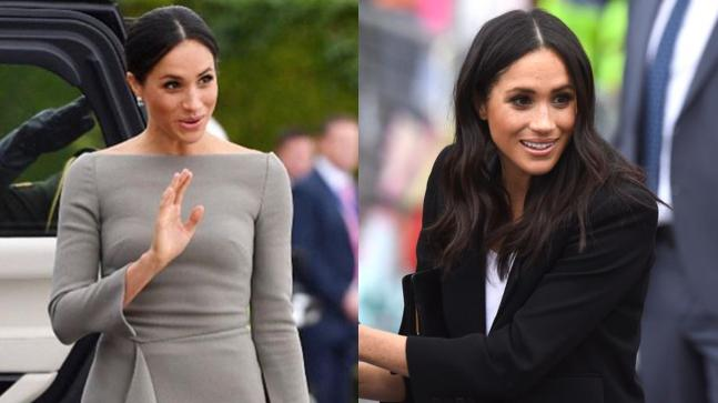 Meghan Markle looks stunning in these outfits.