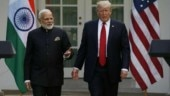 Narendra Modi with US President Donald Trump (Photo