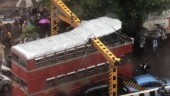 Mumbai: BEST double-decker bus roof ripped off after crashing into overhead barricade