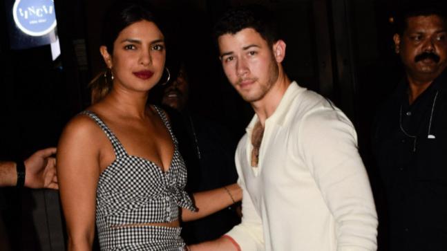 Nick Jonas and Priyanka Chopra