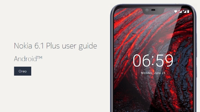 nokia 6 1 plus user guide with indian sar info spotted suggests rh indiatoday in nokia x6 user guide in india Nokia 8 Smartphone 2017