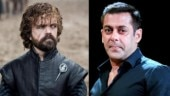 Peter Dinklage and Salman Khan
