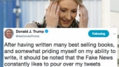 JK Rowling can't stop laughing after Trump's most spectacular spelling mistake yet