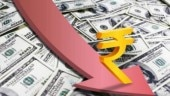 Rupee continues fall, hits life-time low of 69.13