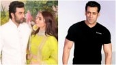 Ranbir was asked if he was dating Alia. Kapoor stole Salman's answer