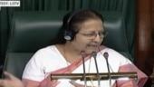 Hugging PM in Lok Sabha not proper, Sumitra Mahajan reprimands Rahul Gandhi