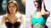 Sunny Leone and Arshi Khan