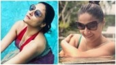 Kasauti Zindagi Kay's Urvashi Dholakia turns a water baby in red swimsuit; see pics