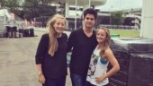 Arjun Tendulkar has lunch with England cricketer who proposed to Virat Kohli