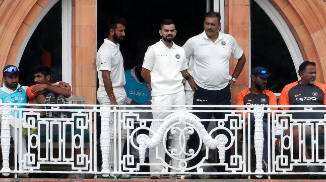 India vs England 2nd Test Virat Kohli was at the non-striker's end when Cheteshwar Pujara was run out