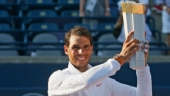 Rafael Nadal also won the Rogers Cup in 2005, 2008 and 2013 (Reuters Photo)
