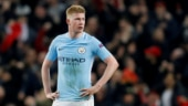 Kevin de Bruyne scored eight goals and provided 16 assists in the 2017-18 Premier League campaign (Reuters Photo)
