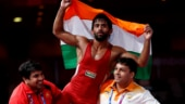 Bajrang Punia won gold for India in 65 kg freestyle wrestling