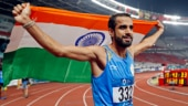 Manjit Singh won the lone gold medal for India on Day 10 after winning the men's 800m final race (Reuters Photo)