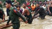 Dam breach floods 85 Myanmar villages, thousands displaced