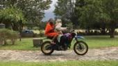 Sadhguru takes Baba Ramdev for a ride | PHOTOS