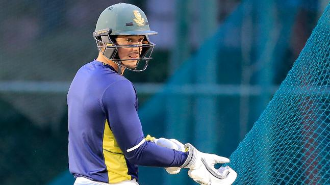 Quinton de Kock will captain South Africa for the first time in his career