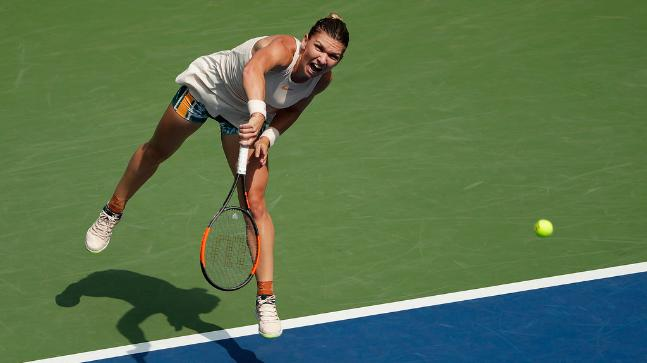 Simona Halep suffers upset at US Open to Kaia Kanepi