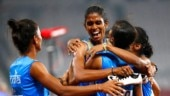 Asian Games 2018 4x400m relay: India women win 5th straight gold, men win silver