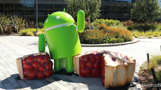 What inspired Android 9 Pie update?