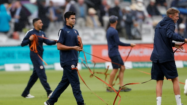 Arjun Tendulkar has been training at Lord's with the Marylebone Cricket Club. (Reuters Photo)