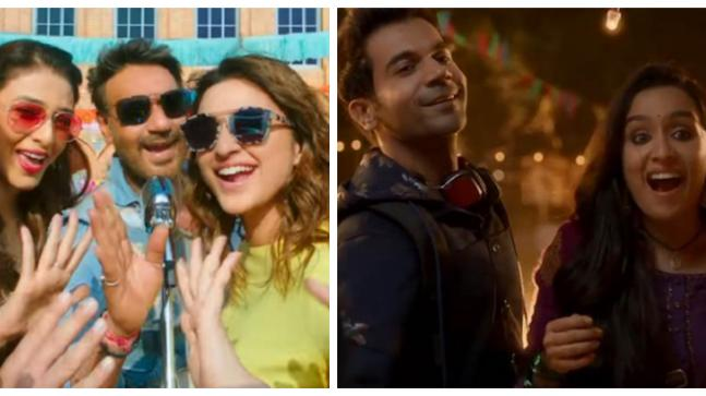 Stills from Golmaal Again and Stree