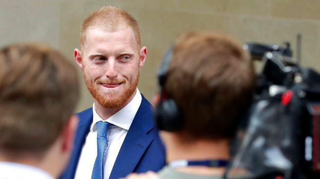 Ben Stokes is under trial for the Bristol pub brawl. (AP Photo)