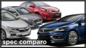 If you are planning to buy a premium mid-size sedan under Rs 10 lakh, here is our spec comparison to see how these cars stack up on paper.