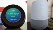 How is the experience of living with two smart speakers? Creepy