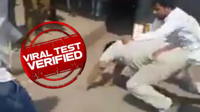 The truth behind man beating cop in viral video