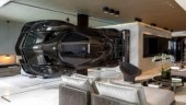 No, we are not bluffing. Someone has installed a full-size Pagani Zonda R as a room divider inside their apartment.
