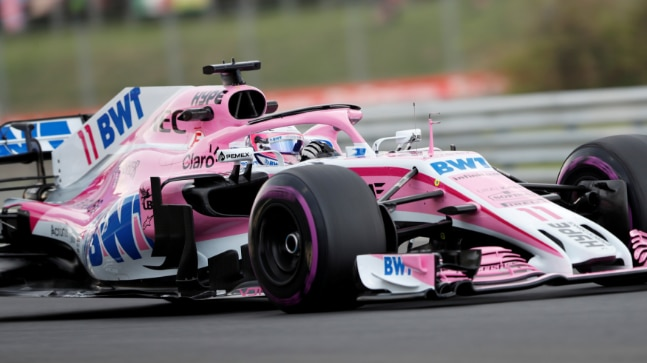 Sahara Force India has been renamed as Racing Point Force India after the new consortium took over the team. (Reuters file Photo)