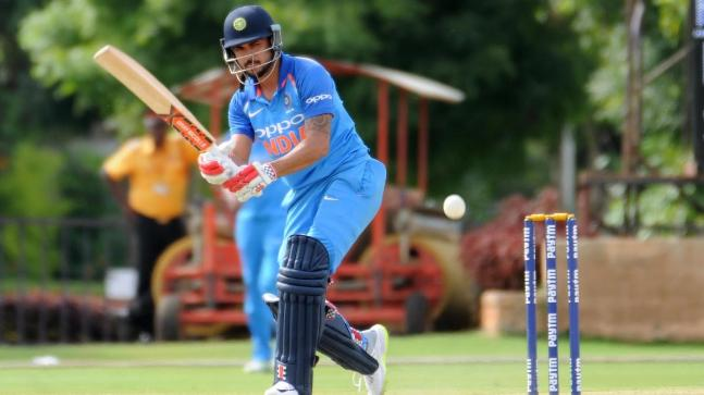 Manish Pandey slammed an unbeaten 54-ball 73 to help India 'B' beat Australia 'A' by nine wickets