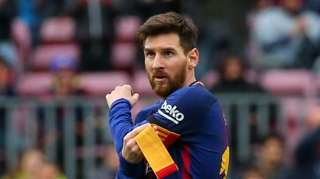 Lionel Messi is the all-time leading goalscorer of FC Barcelona. (Reuters Photo)