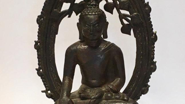 London Police returns stolen 12th century Buddha statue to India on Independence Day