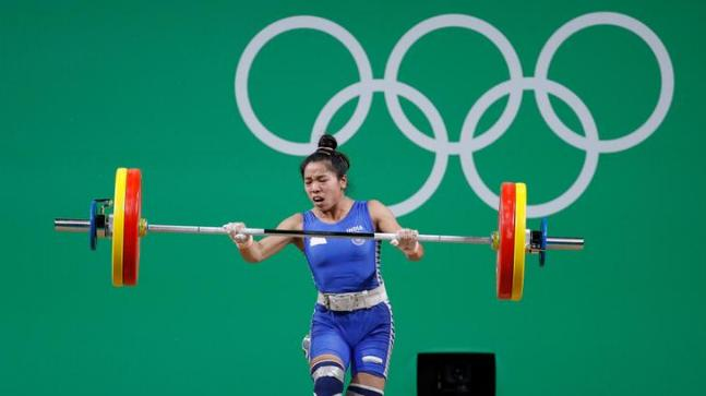 Mirabai Chanu pulled out of the Asian Games with a back injury, which she had sustained while training.