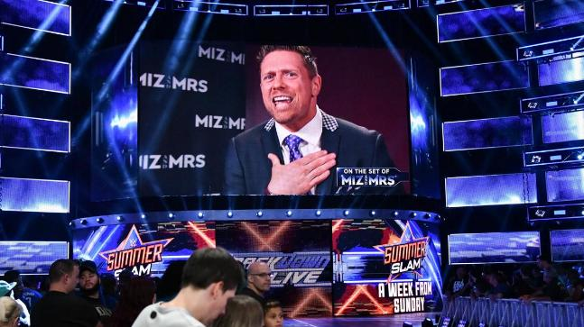 The Miz also announced on WWE SmackDown Live that he would face Daniel Bryan at SummerSlam