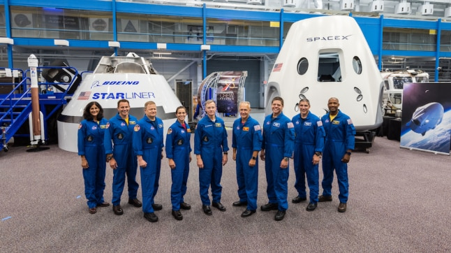Nasa names 9 astronauts including Sunita Williams for first commercial flights