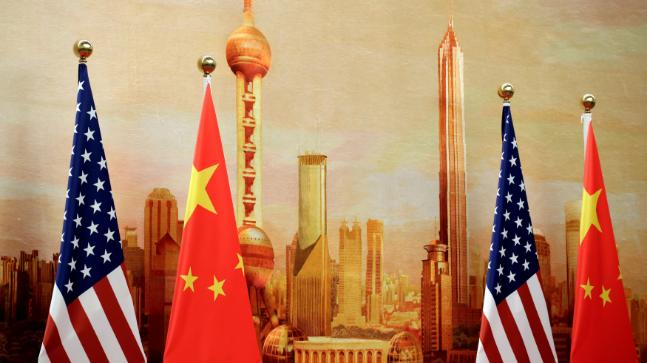 United States  and China meet for trade talks