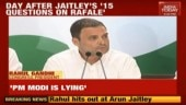 Rahul Gandhi says PM Modi is lying about Rafale deal