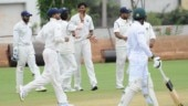 Ankit Rajpoot grabbed two wickets in a rain-hit third day of the second unofficial Test between India A and South Africa A