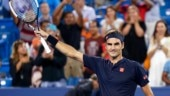 Roger Federer is looking to win his eighth title at Cincinnati. (AP Photo)