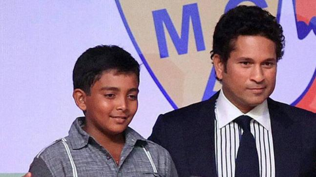 Sachin Tendulkar recalled the first time he saw Prithvi Shaw bat after the latter was included in the Indian Test squad for the final two Tests in England.