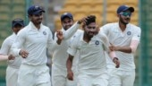 Mohammed Siraj picked up his maiden 10-wicket haul in Test cricket